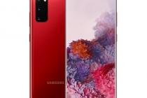 갤럭시S20+ 아우라 레드 (Galaxy S20 Aura Red)